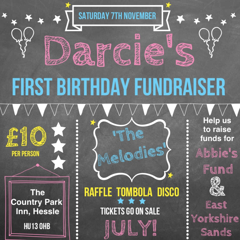 Darcie's 1st Birthday Fundraiser for Abbie's Fund memory boxes